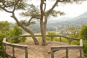 Suye Hill above Karama Lodge and Spa in Arusha Tanzania Africa