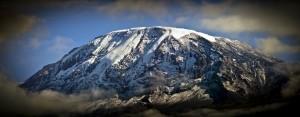Panoramic of Mount Kilimanjaro