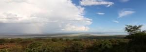 Panorama of Lake Manyara National Park
